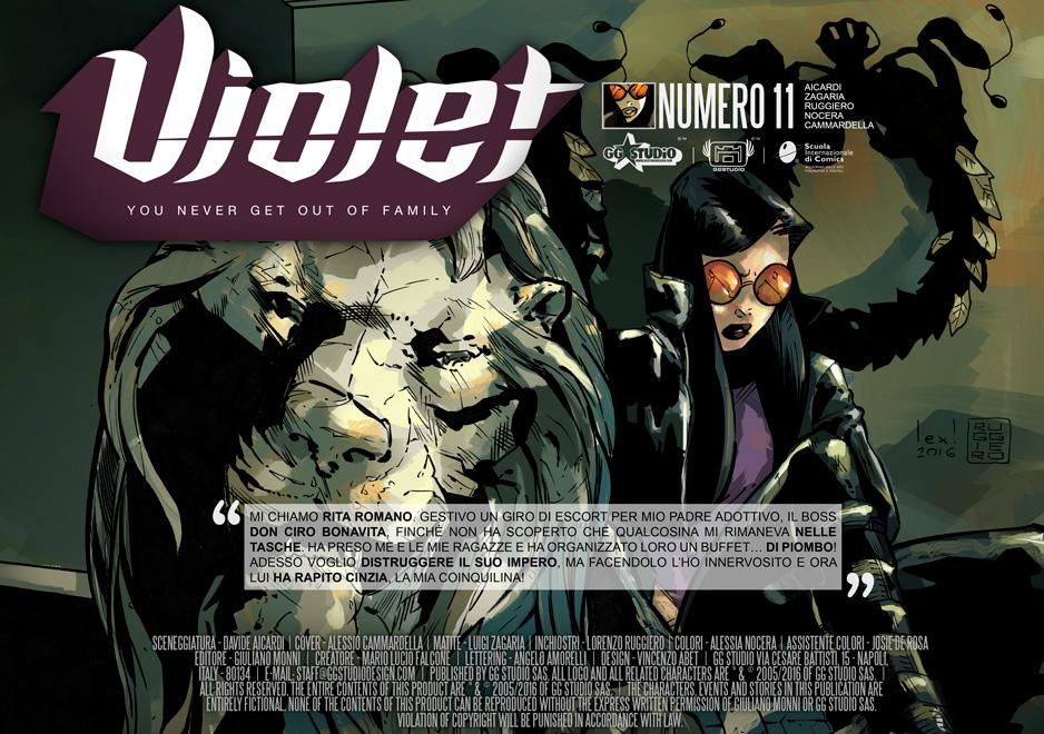 Violet#11-SEASON2///COVER by GGSTUDIO