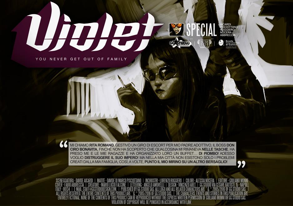 Violet#SPECIAL OSCAR 2017///COVER by GGSTUDIO