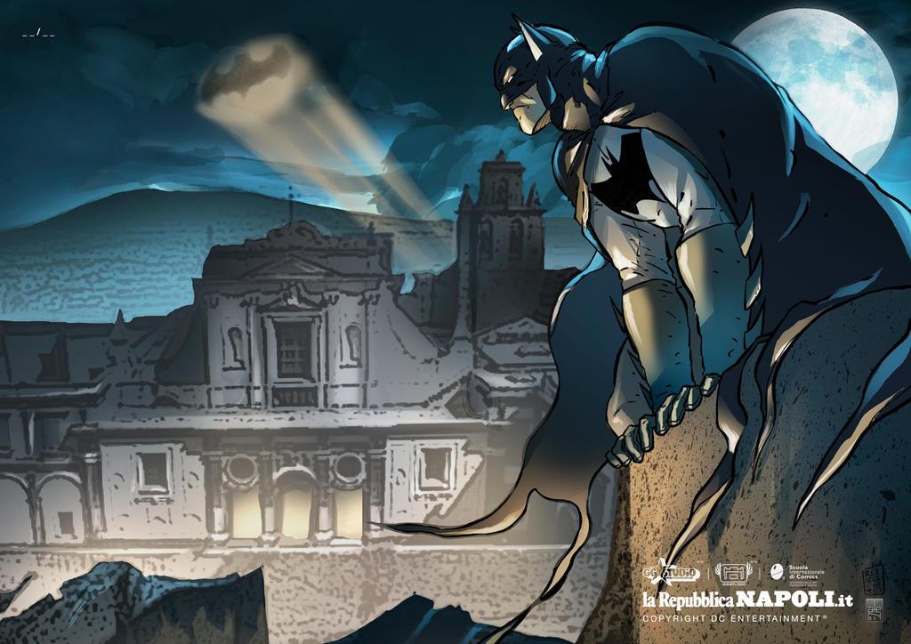 Batman - Certosa of S. Martino - Stampe d'Autore#9 by GGSTUDIO