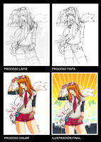Procesos Otaku Expression MAD by kamikazefactory