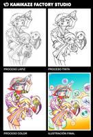 Procesos Otaku Expression BCN by kamikazefactory