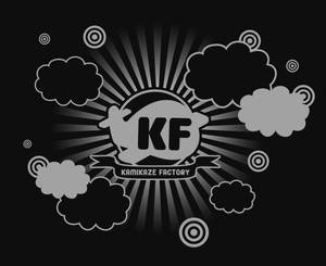 Kamikaze Factory Logo Black