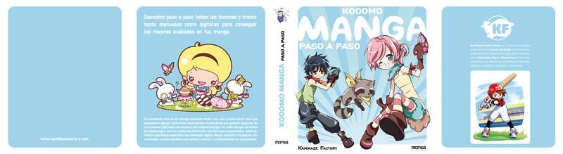 KODOMO MANGA book flaps cover
