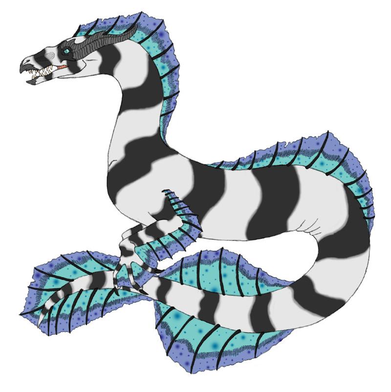 Sea Serpent by NekoLuna