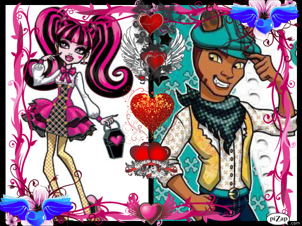 Image Result For Draculaura And Clawd