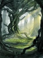 Ancient Forest by VonStreff