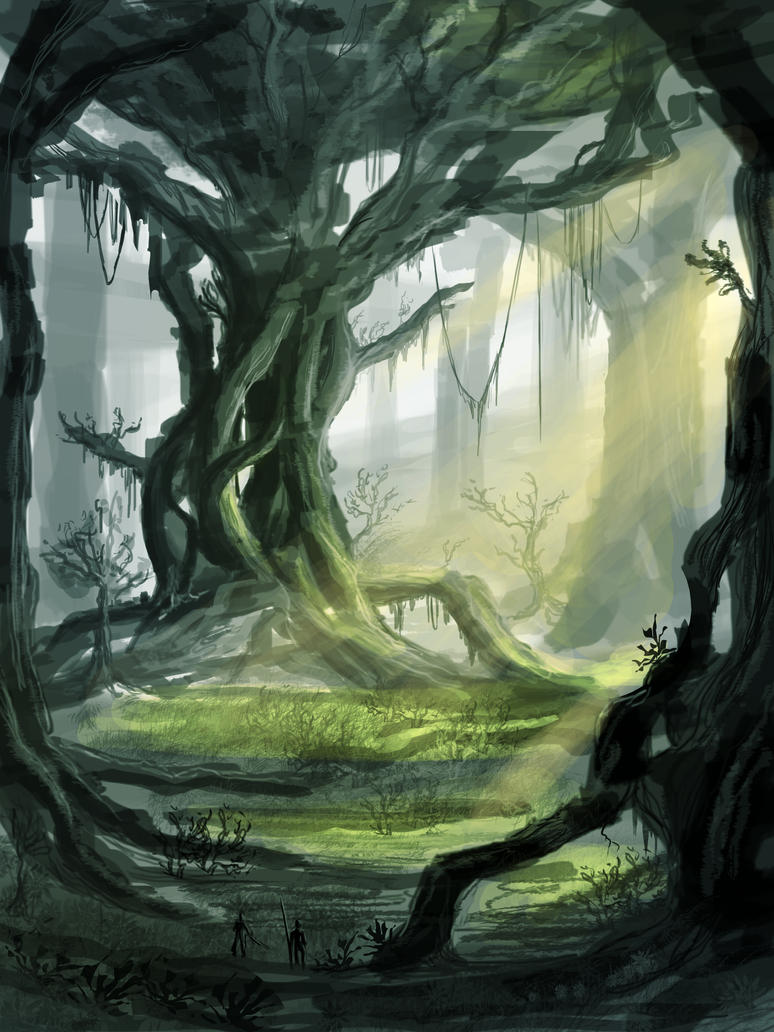 Ancient Forest by VonStreff