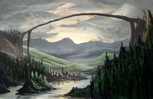 Natural Bridge by VonStreff
