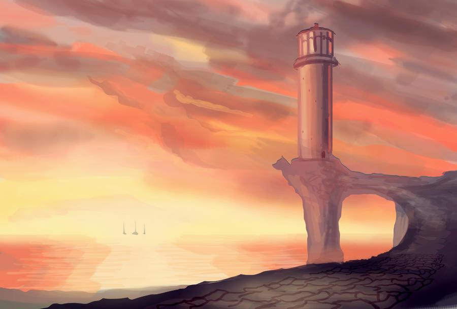 On the Horizon by VonStreff
