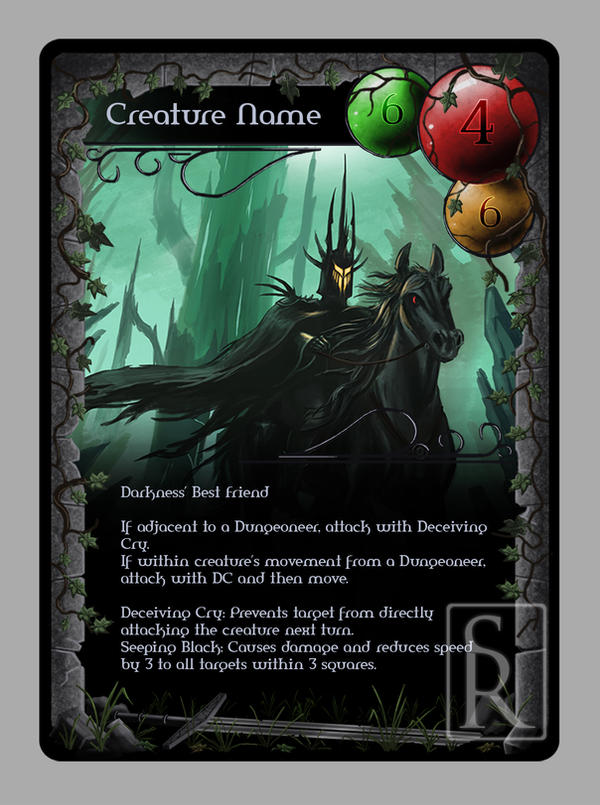 Card Design Final by VonStreff