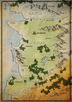 Aria of Steel Map