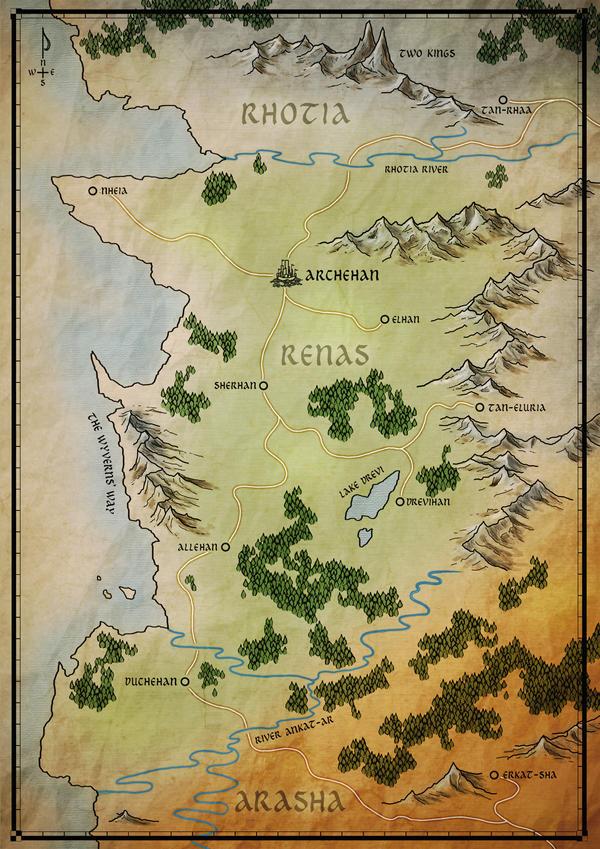 Aria of Steel Map by VonStreff