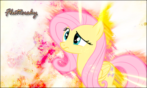 Fluttershy Signature by PonyGFXGalleria
