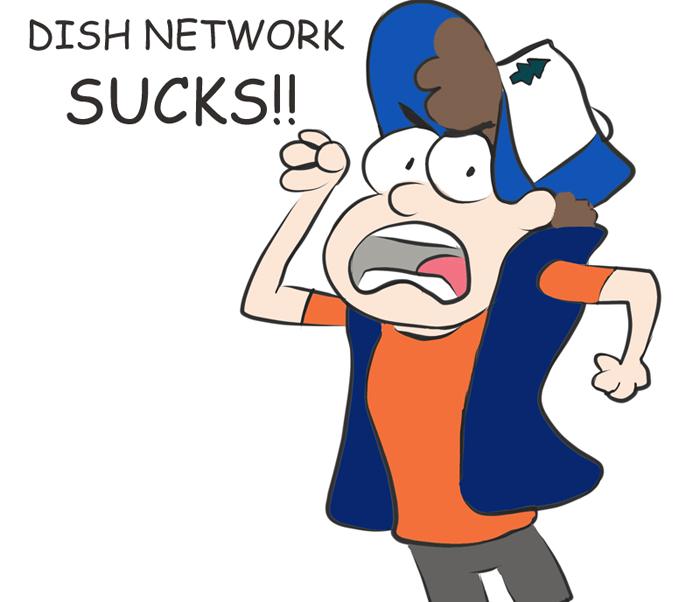 At dish network sucks working