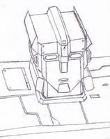 Transformer Robot Portrait by wildspark