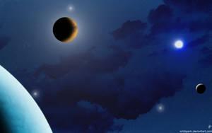 Celestial Blues by wildspark