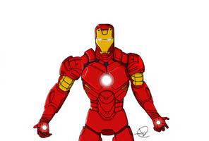 Iron Man by wildspark