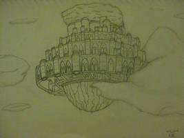 Laputa: Castle in the Sky by wildspark
