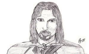 Aragorn by wildspark