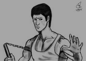 Bruce Lee by wildspark