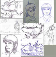 Sketches by wildspark