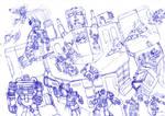 Random Battle - Pseudo Box Art by wildspark