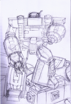 Omega Supreme - rough sketch