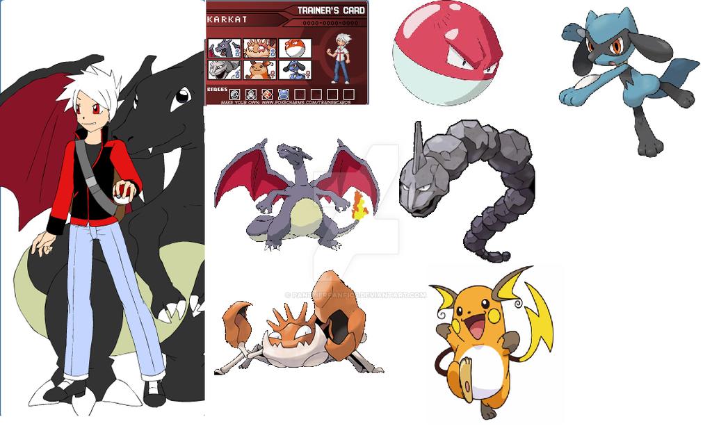 homestuck pokemon crossover karkat by pantherfanfics on