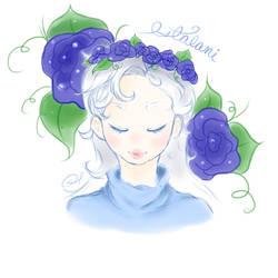 Blue Roses by le-choupette