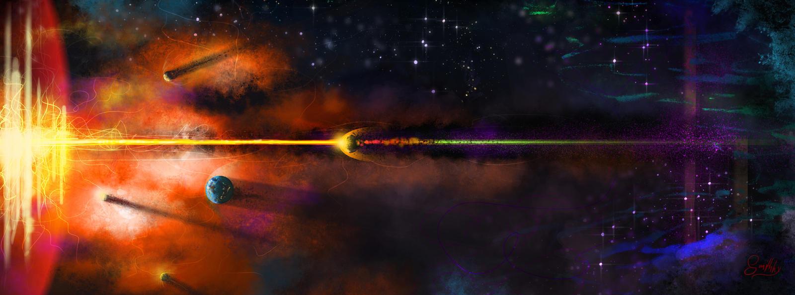 End of a Solar System by Sverrirorz on DeviantArt