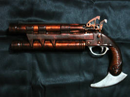 Double-Barrel Hand Cannon by tailenzaa