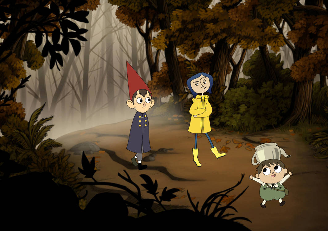 Over The Garden Walk: Coraline's Walk Over The Garden Wall By MariusWales On