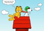 Garfield's Flight