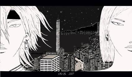 Night in the city II