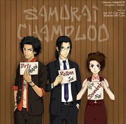 SAMURAI CHAMPLOO for kawaiiS by one-of-the-Clayr