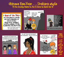BLEACH Chinese New Year comic by one-of-the-Clayr