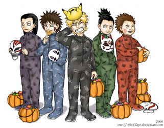 Trick-or-Treat no Jutsu by one-of-the-Clayr