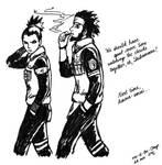 Asuma and Shikamaru
