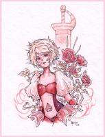 Pink Diamond by White-Starcloud