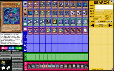 My DN Deck: Heraldic Beast Rank 4 Chaos Xyz