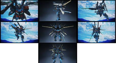 Gundam Breaker-Duel ZZ Full Assault Gundam