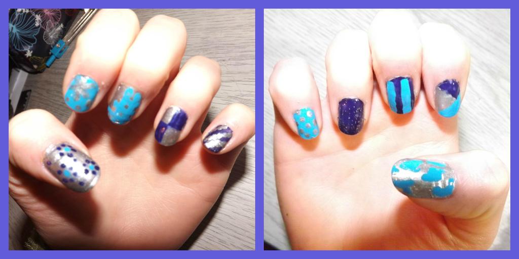 random nails by ARAart