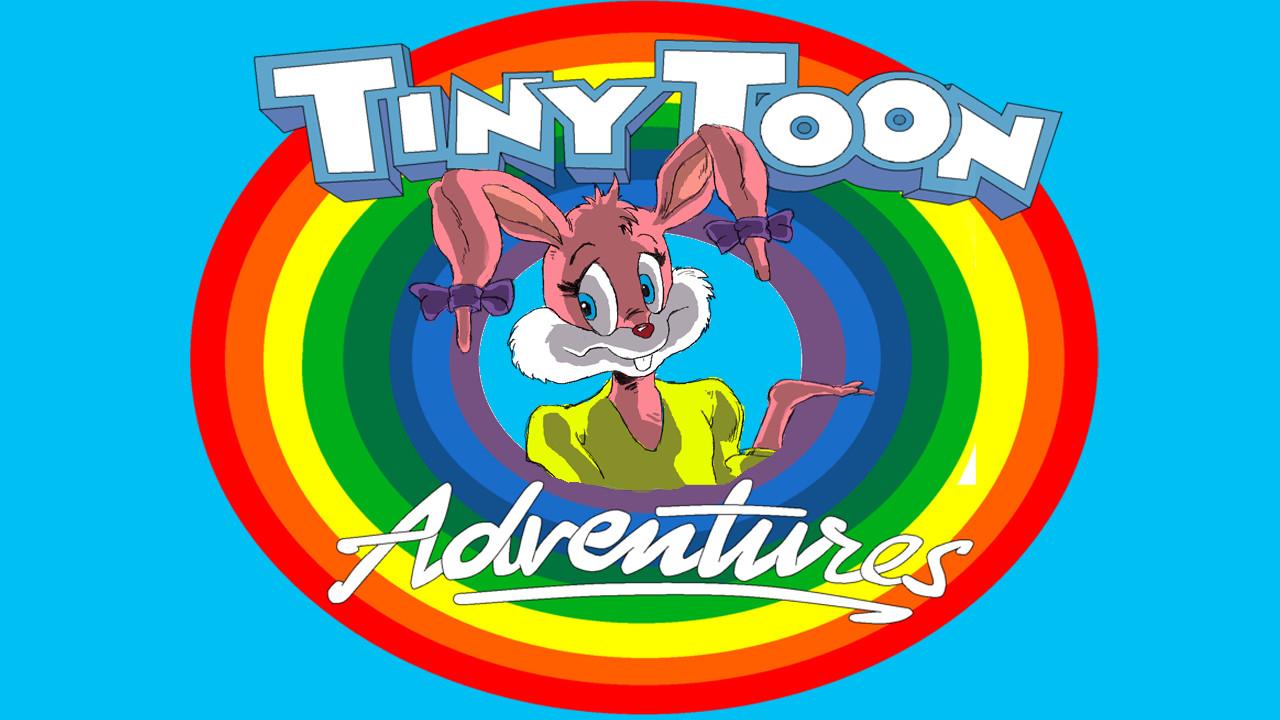 Babs Bunny With Logo by Raineylamont