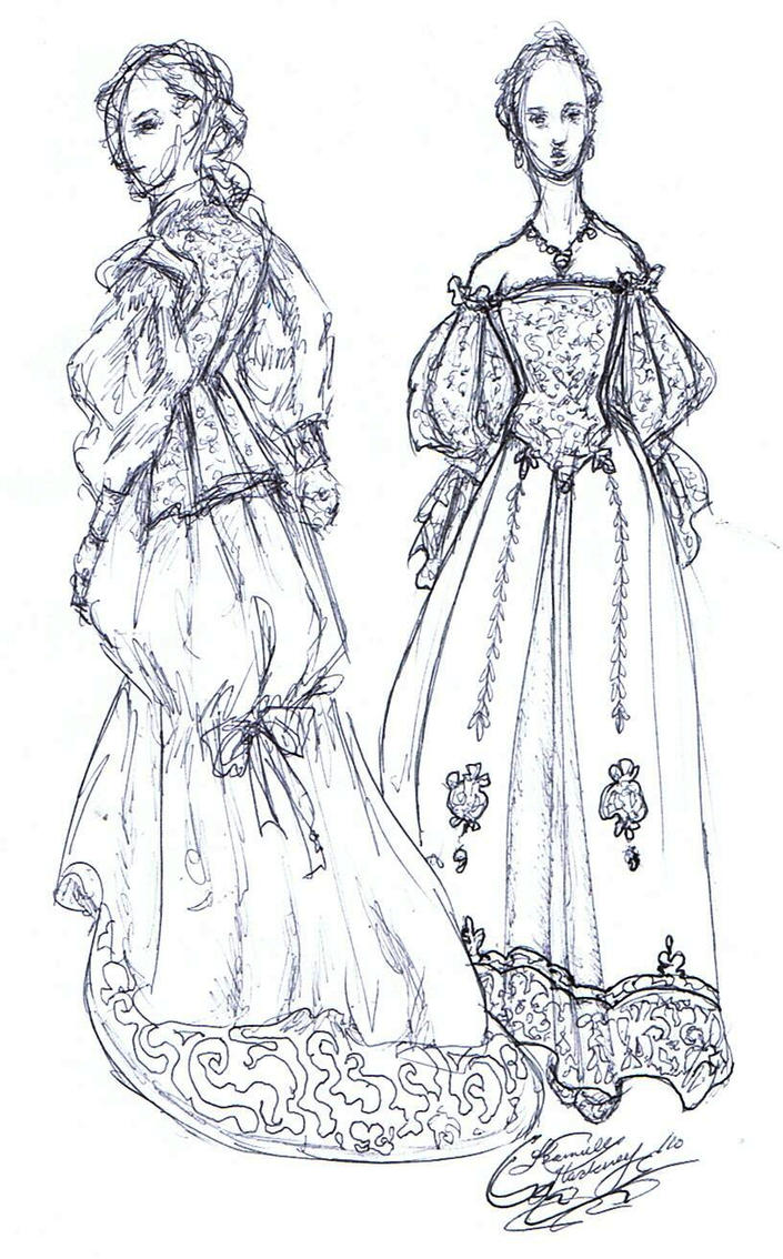 "Costume design for ""Mon Ami"" by Kvdoglover"