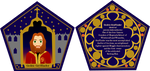 Gryffindor Chocolate Frog Card by tigerlily003