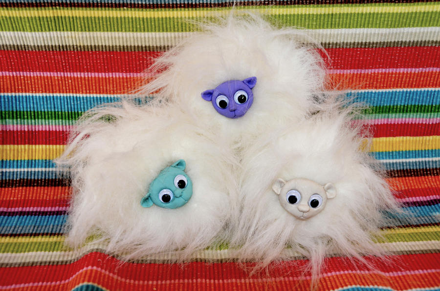 Pygmy Puffs - Winter Collection by tigerlily003