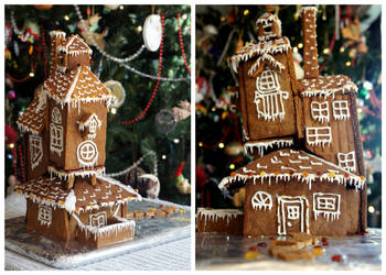 The Burrow Gingerbread House