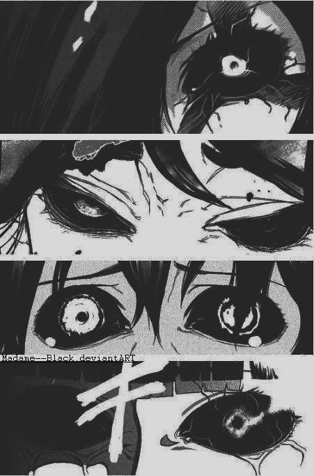 Ghoul eyes by Madame--Black