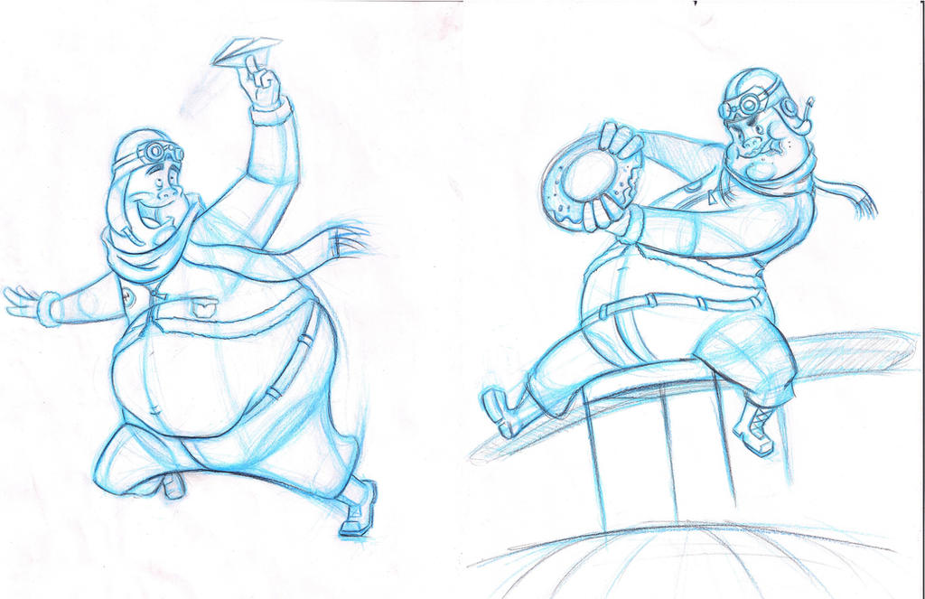Sheridan College Character Design : Character action poses by paraguaydraw on deviantart