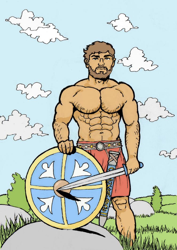 Warrior by AlMearveck